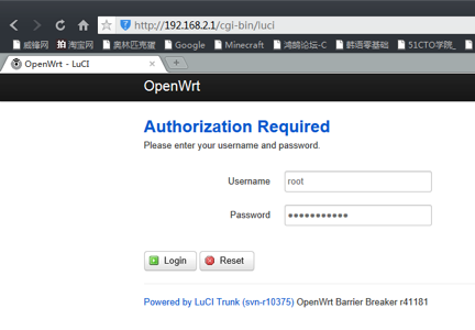 Open your browser,access:192.168.2.1,Enter the user name and password