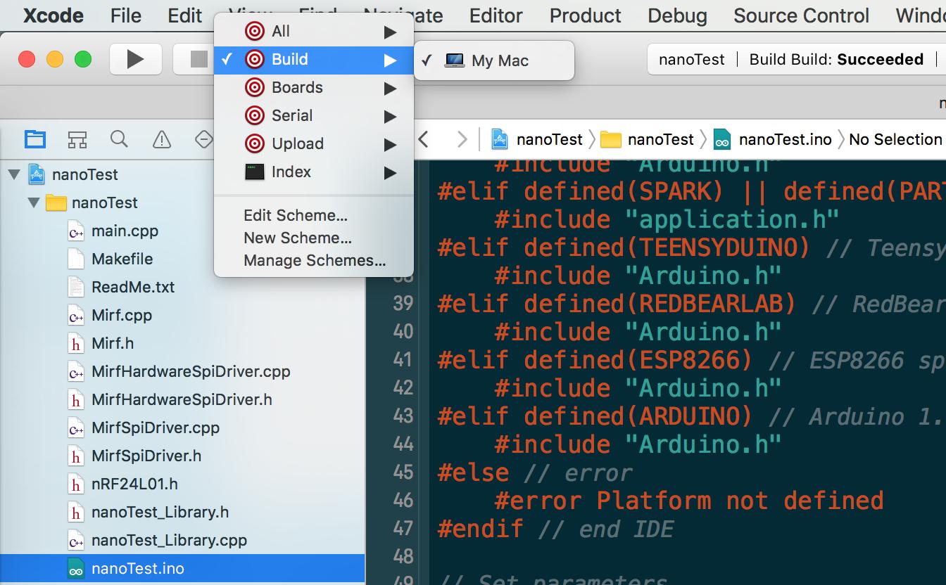 embedxcode插件讓 Xcode 支持嵌入式開發