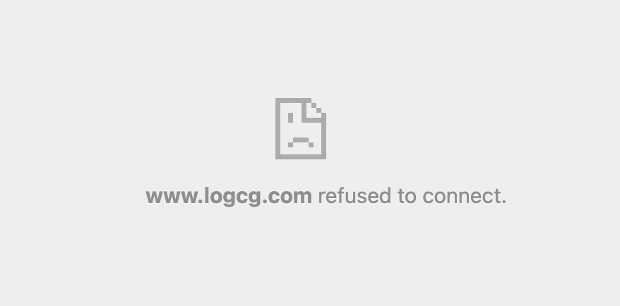 The server of R0uter's blog rejected the embedding of the site